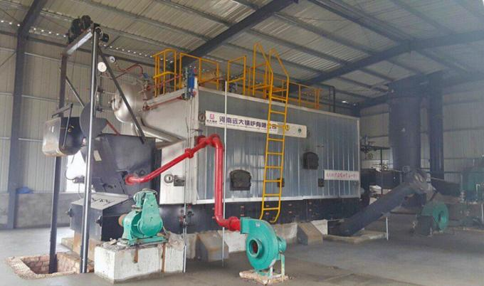 2 Ton Bagasse Fired Steam Boiler / Water Tube Boiler In Paper Mill