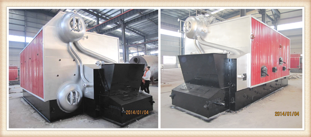 Pellet Bagasse Fired Steam Boiler For Alcohol Distillation / Distilling