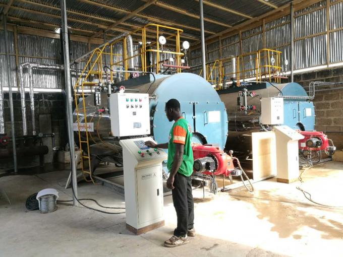 Intelligent And Fully Automatic Oil Fired Hot Water Boiler For Laundry