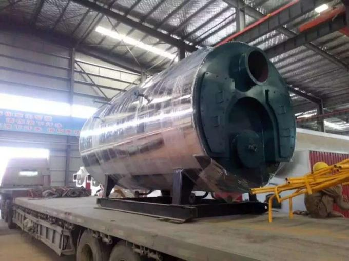 Horizontal Fire Tube Boiler Oil Central Heating For Poultry House