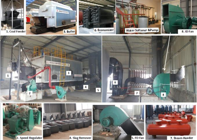 Automatic Indsutrial Steam Boiler Low Presure Running Safety Steam Boiler