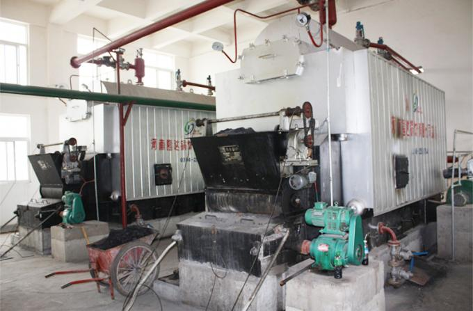 Safe And Reliable Bagasse Fired Steam Boiler / Coal Fired Steam Boiler For Paper Mill