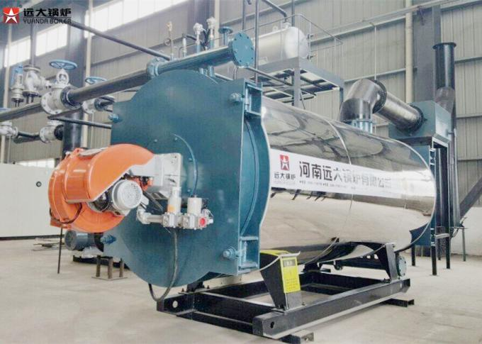 Forced Circulation Diesel Oil Fired Thermal Oil Boiler 350kw - 7000kw Capacity