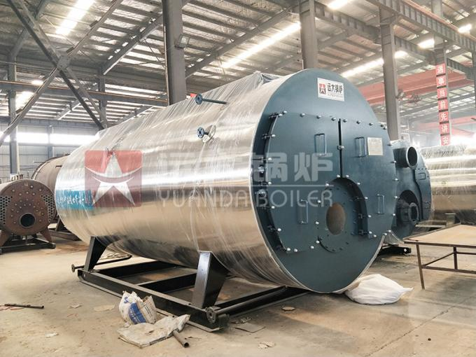 High Efficiency Fire Tube Oil Fired Hot Water Boiler Three Way Automatic Running