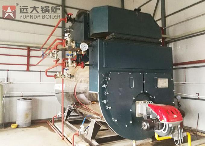 Industrial Gas Oil Fired Hot Water Boiler For Greenhouse Heating System