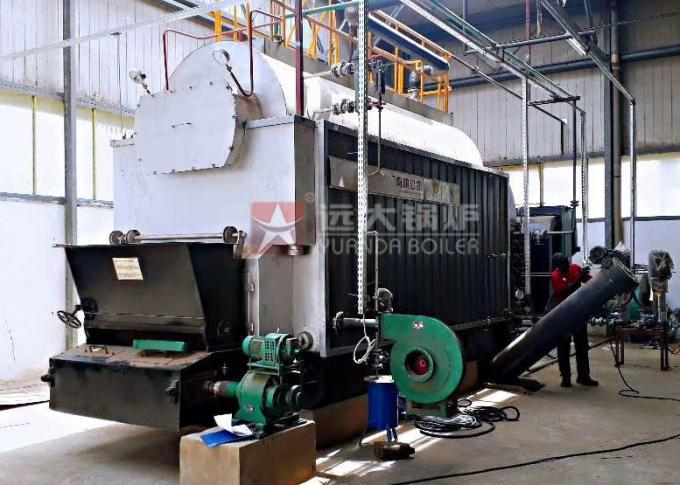 Horizontal Residential 2.8Mw Coal Fired Hot Water Boiler For Heating System
