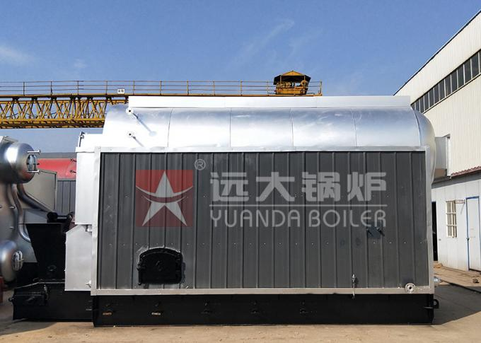 Garment Industry Coal Powered Boiler Machine Automatic Feeding ISO Certification