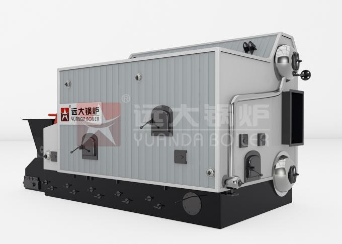 1 Ton Rice Husk Furnace Biomass Steam Boiler For Animal Feed Industry