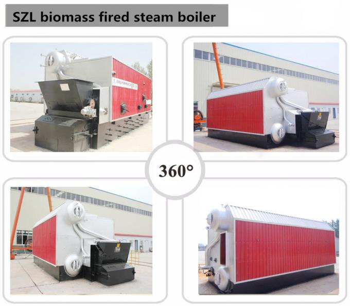 SZL Automatic Operation 1 Ton Biomass Steam Boiler Coal Fuel Energy Saving