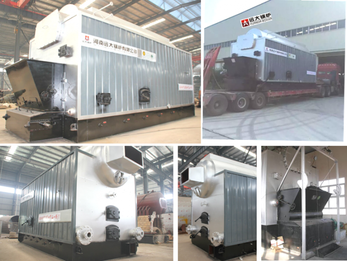 Sufficient Output 10 Ton Coal Fired Steam Boiler For Paper Production