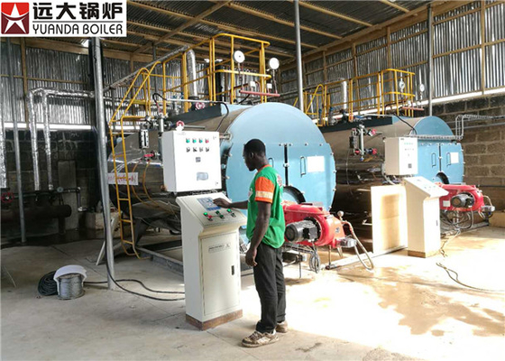 Gas Oil Fired Steam Boiler For Chemical Factory , High Pressure Steam Boiler