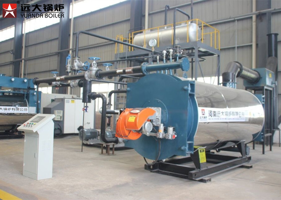 China Automatic Operating Thermic Oil Heater Boiler For Bitumen Usage supplier