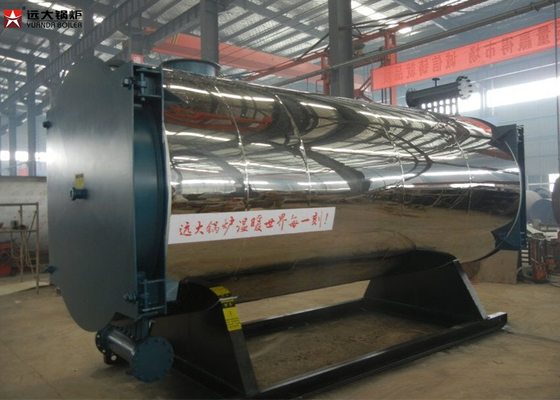 China YYQW Series Oil Gas Fired Boilers 0.7MW - 1.4MW With Forced Circulation supplier