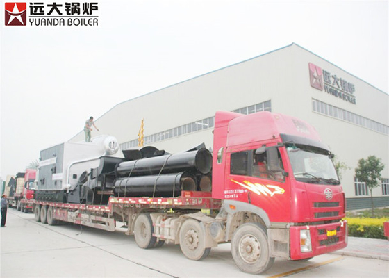China Waste Fired Industrial Steam Boiler Running Safety 16 bar Rated Working Pressure supplier