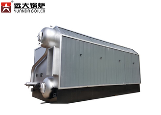 China Automatic Steam 1 Ton Rice Husk Steam Boiler For Animal Feed Industry supplier