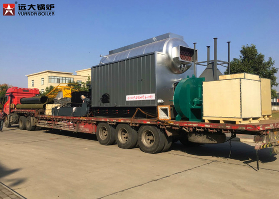 China 6 Ton Coal Fired Steam Boiler Sawdust Paddy , Biomass Pellet Fired Boiler supplier