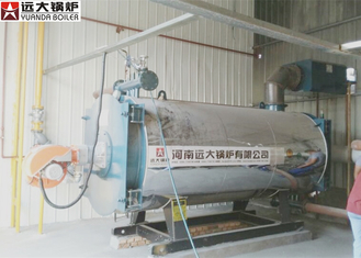 China High Efficiency Customized Thermal Oil Boiler Large Combustion Chamber supplier