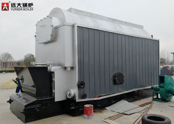 China 6 Ton / 8 Ton Industrial Steam Boiler / Wood Coal Fuel Fired Boiler supplier
