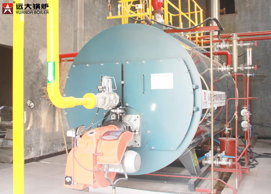 China Compact Structure Oil Steam Boiler Running Safety Fully Automatic Control supplier