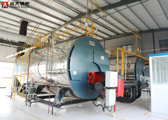 China ISO9001 Industrial Steam Boiler 1Ton To 20 Ton For Food Factory supplier