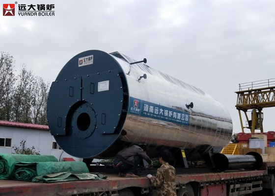 China WNS 1 Ton 2 Ton 4 Ton Oil Steam Boiler For Pharmaceutical Industry supplier