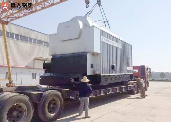 China 1-20 Ton/H Charcoal Coal Fired Steam Boiler Running With Chain Grate supplier