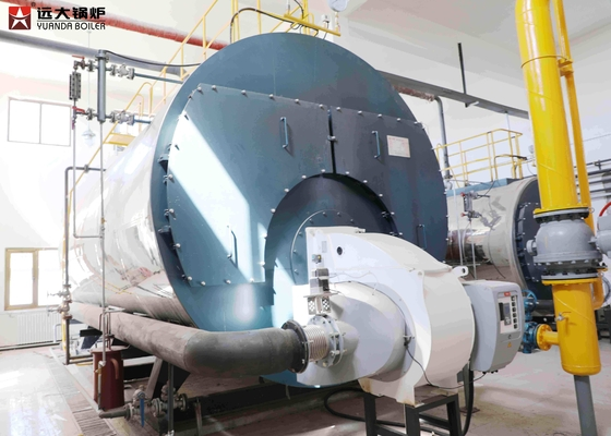 China Horizontal Fire Tube Boiler Oil Central Heating For Poultry House supplier