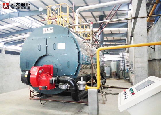China 1 Ton Industrial Steam Boiler , Gas And Diesel Dual Fuel Fired Boiler supplier