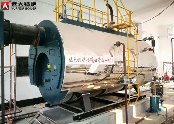 China Safe Operate Fire Tube Steam Boiler Automatic Control System SGS Certification supplier