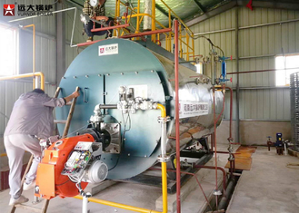 China Hot Water Output Biogas Fired Boilers Automatic Running For Center Heating supplier
