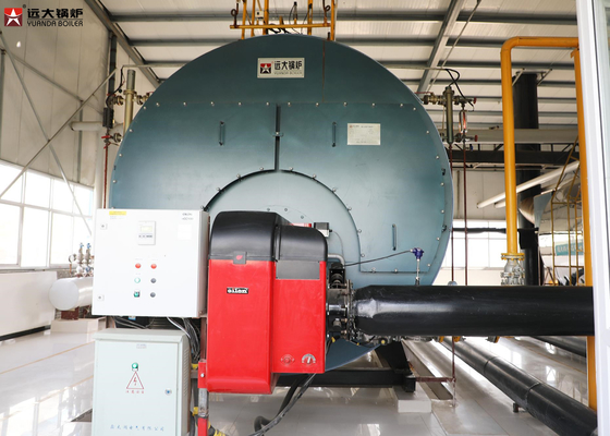 China Intelligent And Fully Automatic Oil Fired Hot Water Boiler For Laundry supplier