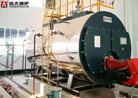 China Small Capacity Diesel Light Oil Fired Hot Water Boiler For Hotel Heating supplier