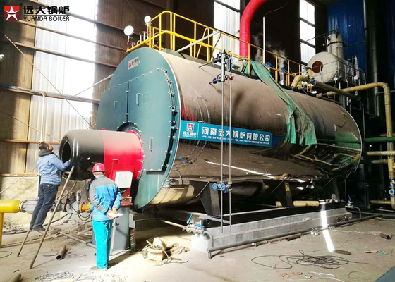 China Center Heating Oil Hot Water Boiler For Community / School ISO9001 Certification supplier