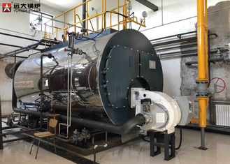 China Large Capacity Gas Steam Boiler / Fully Automatically Energy Saving Boiler supplier