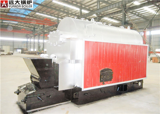 China 2 Ton Single Drum Coal Hot Water Boiler / Coal Biomass Pellet Boiler supplier