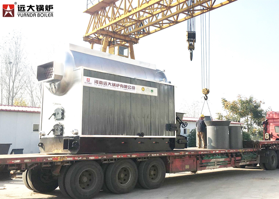 China 2 Ton- 50 Ton Weight Coal Fired Hot Water Boiler For Heating System supplier