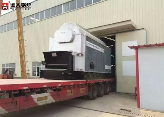 China Steady Running Industrial Hot Water Boiler 1400Kw Enough Ouput supplier