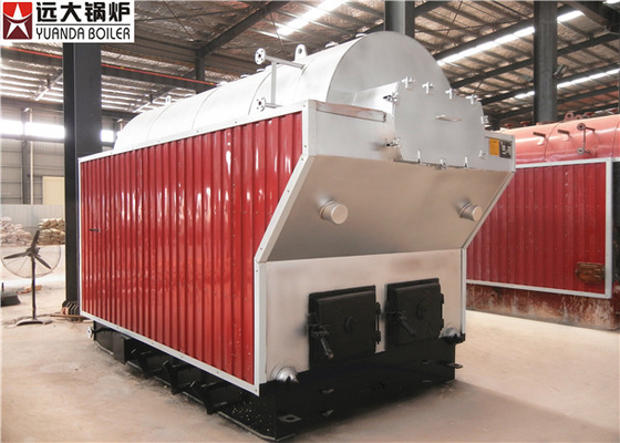 China Manual Feeding Wood Fired Steam Boiler Work In Papermaking Industry supplier