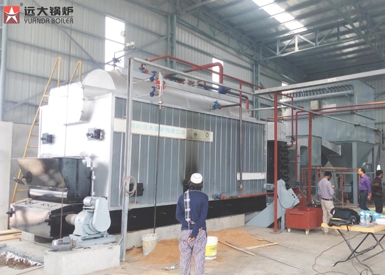 Low Pressure Steam Boiler Running Wood Fired In Textile Industry