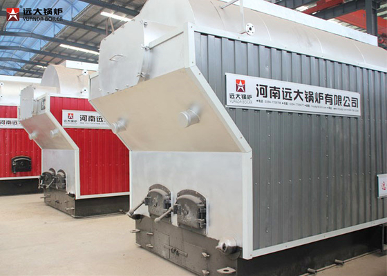 China Automatic Grate Wood Fired Steam Boiler For Plastic / Rubber Industry supplier