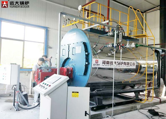China Diesel Fired Low Pressure Steam Boiler Automatic Running Boiler 3T / H supplier
