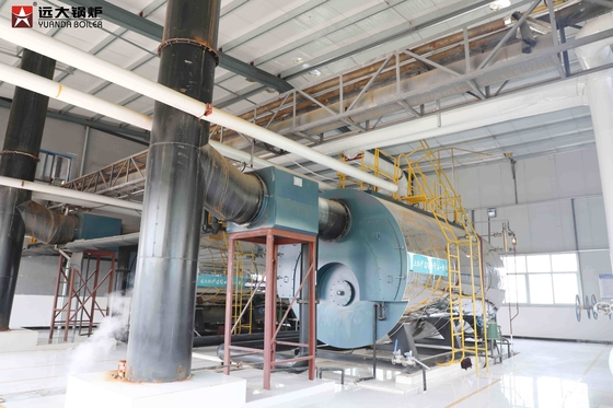 China Energy Saving Fire Tube Oil Fired Boiler 8 Ton Capacity Horizontal Style supplier