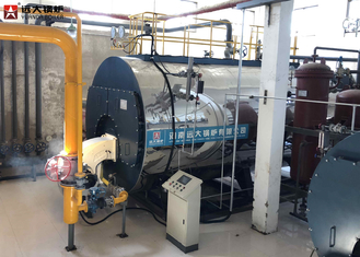 China 12T Diesel Fired Oil Steam Boiler , High Efficiency Oil Boiler Operate Safety supplier