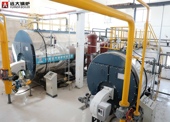 China 12 Ton 16 Bar Heavy Oil Fired Steam Boiler Low Pressure Running Efficiently supplier