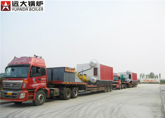 China Fire Water Tube Biomass Fired Boiler 4000Kg / H Steam For Food Making supplier