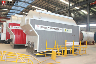 China Durable Fire Wood Boiler / Outside Wood Boiler Low Original Dust Concentration supplier