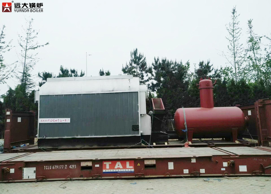 China Sugar Industry Bagasse Fired Boiler / High Efficiency Steam Boiler Single Drum Structure supplier