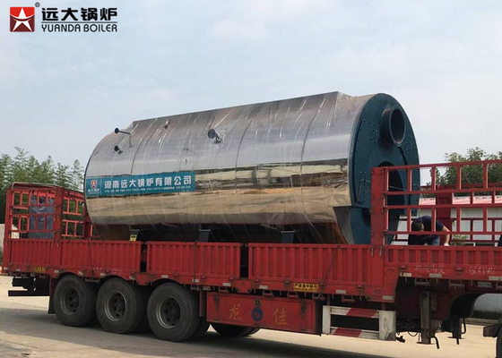 China 10 Bar 1500Kg 3 Pass Fire Tube Steam Boiler , Automatic Diesel Gas Steam Boiler supplier
