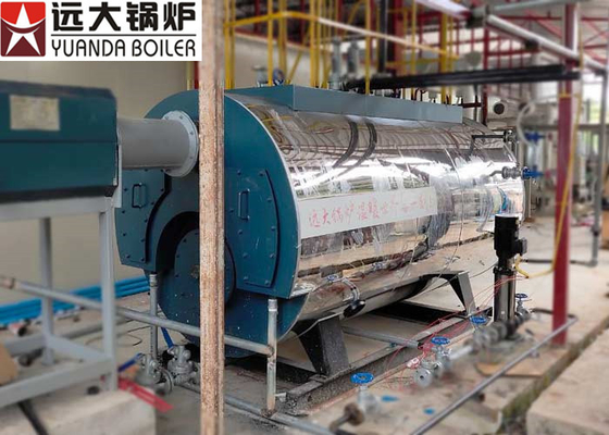 China 2Tph Diesel Oil Fire Tube Steam Boiler Low Pressure For Brewery Factory supplier