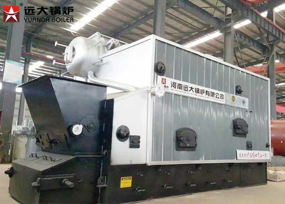 China Low Pressure Wood Fired Steam Boiler , Biomass Boiler Paper Plant 10 Ton supplier